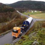 Transport av tårnseksjon
