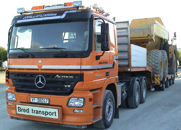 Transport av dumper