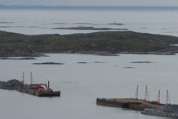 lekter på fjorden