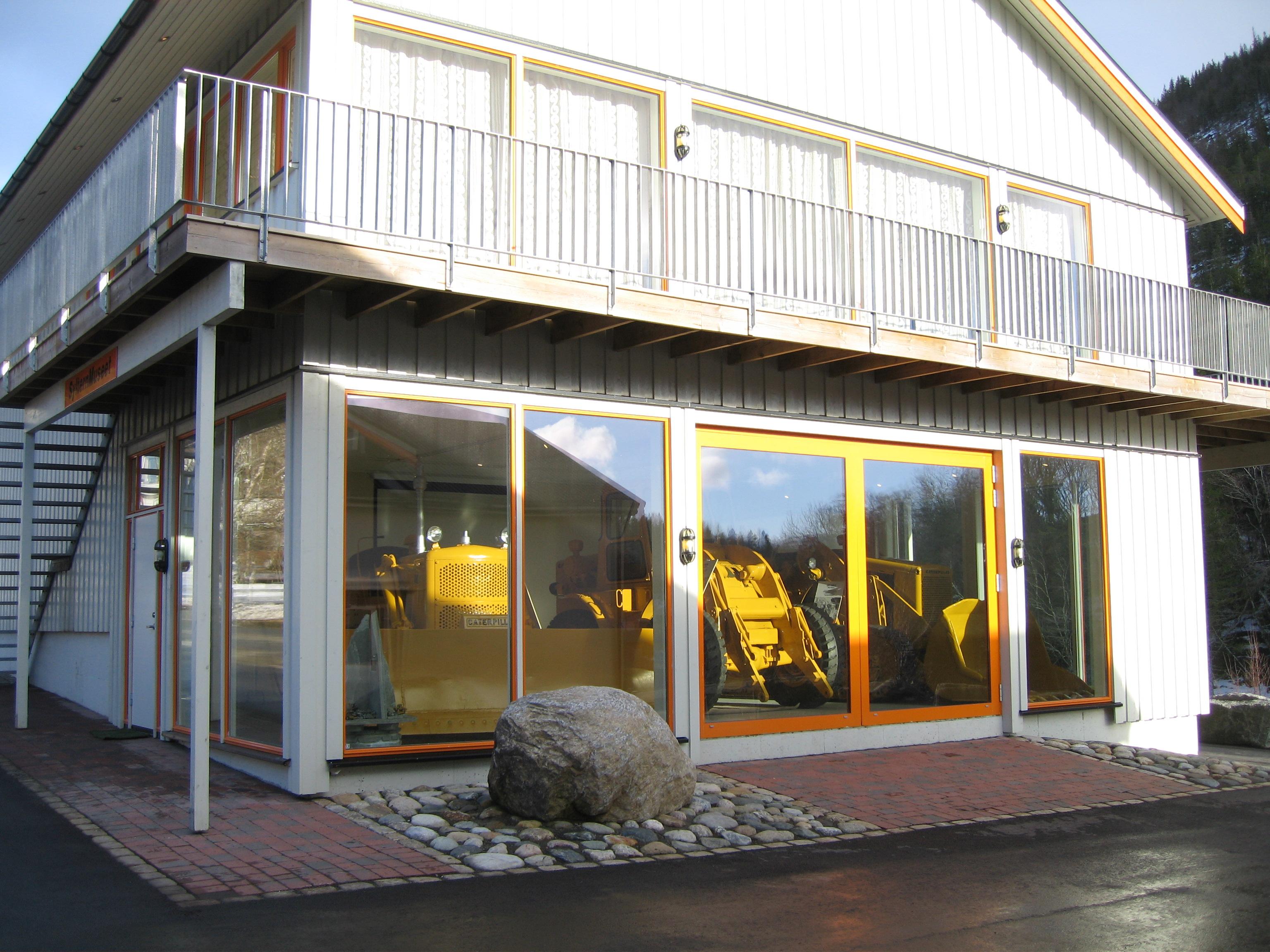 Inngangen til SylternMuseet i Åfjord