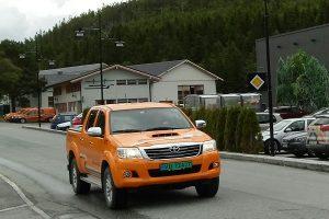 Toyota Hilux i Åfjord