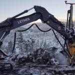 Letnes har utført sprengningsarbeidene