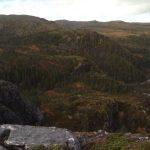 Noen av vegene øverst i Einarsdalen