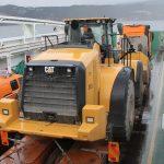 Transport av hjullaster