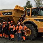 Ny Volvo A40 G FS overleveres