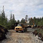 Vegen bygges for 20 tonn akseltrykk